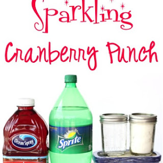 Sparkling Cranberry Party Punch Recipe!