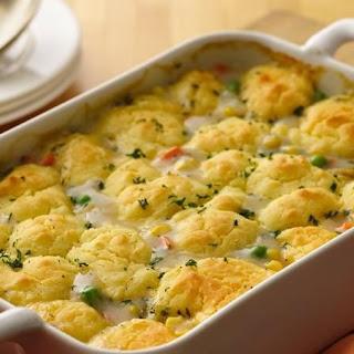Gluten-Free Chicken and Vegetable Pot Pie.