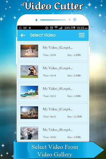 Video Cutter and Trimmer for WhatsApp 1.0 screenshots 2