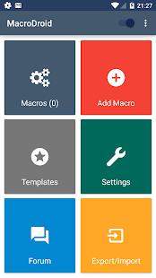 MacroDroid - Device Automation- screenshot thumbnail