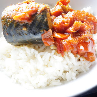 Mackerel in Tomato Sauce – Quick Stew for Rice Recipe