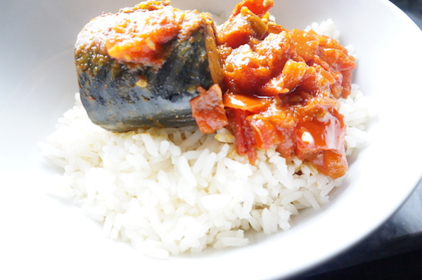 Mackerel In Tomato Sauce – Quick Stew for Rice