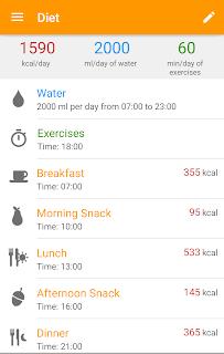 Diet and Fitness - Technutri screenshot 01