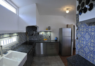 Photo: kitchen, view from back door