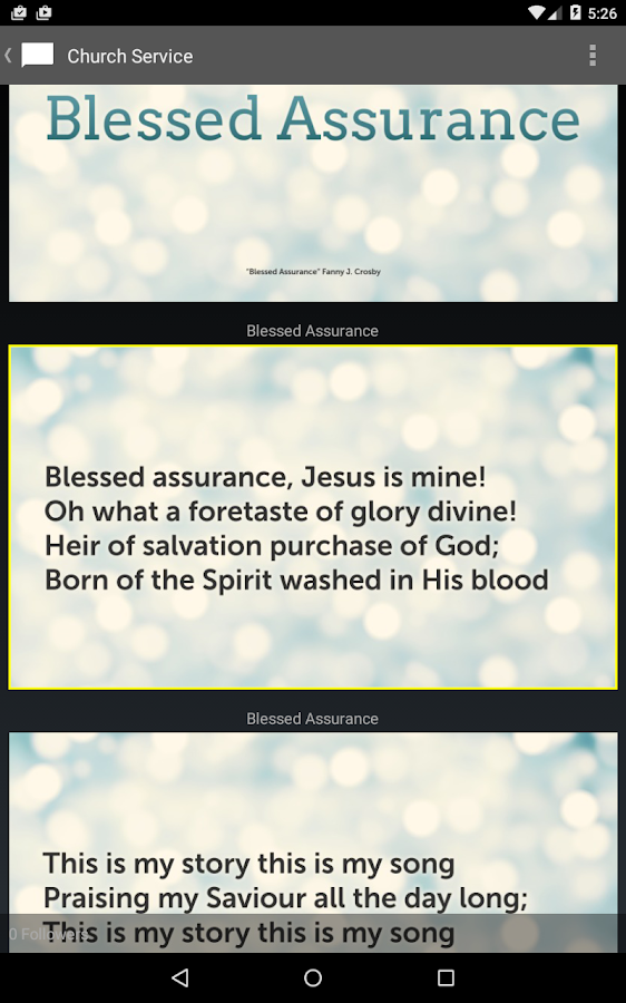 Proclaim Remote- screenshot