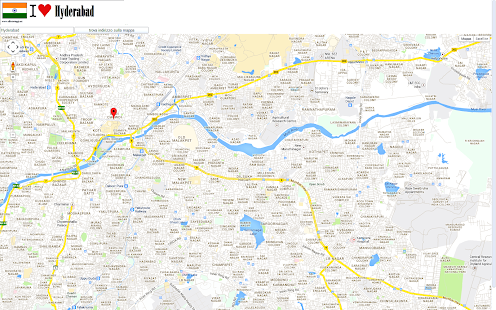 Hyderabad Map Android Apps On Google Play - Pir mahal map