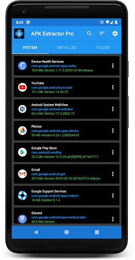 APK EXTRACTOR PRO 13.0.3 screenshots 1