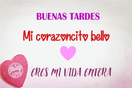 Feliz Tarde Mi Amor Frases De Buenas Tardes Apk Download Apkpure Co
