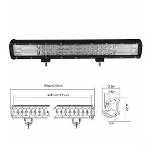 Proiector auto LED 288W OFF Road - PLA288W