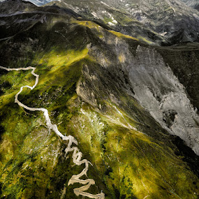 The Point of View  by Roland Shanidze - Landscapes Mountains & Hills