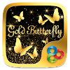 GoldButterflyGO Launcher Theme