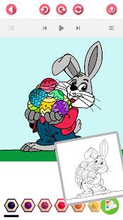Velikonoční Vajíčko Omalovánky - náhled