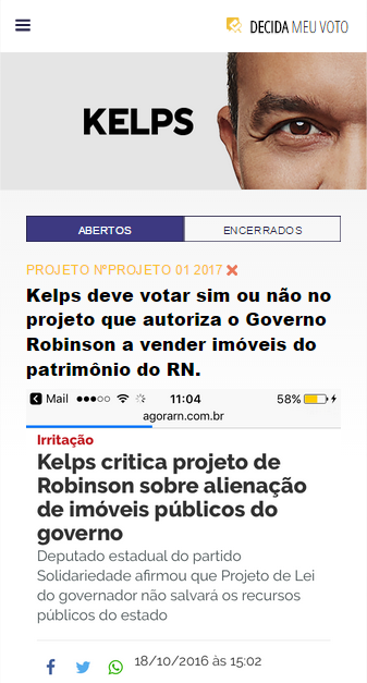 Kelps - Decida meu voto- screenshot