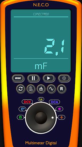 Arduino Digital Multimeter/Oscilloscope Free  screenshots 4