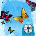 GO Locker Theme Butterfly Blue icon