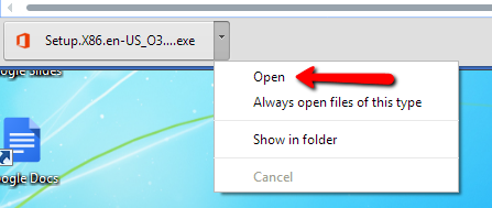 OpenFileChrome