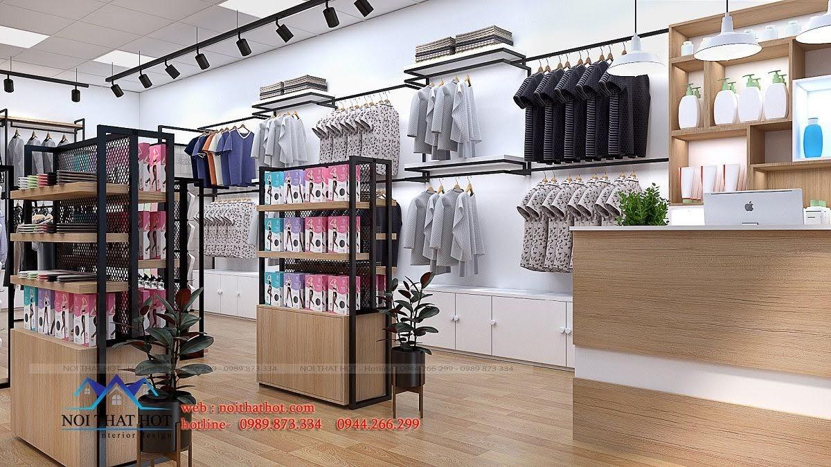 thiết kế shop thời trang uniqlo 4