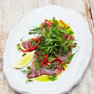 Tuna Carpaccio Recipes.