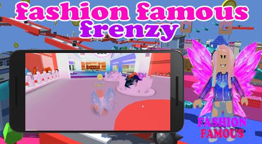 Fashion Famous Frenzy Dress Up Runway Show obby Screenshot