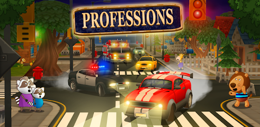Professions for kids: Driver 3D APK