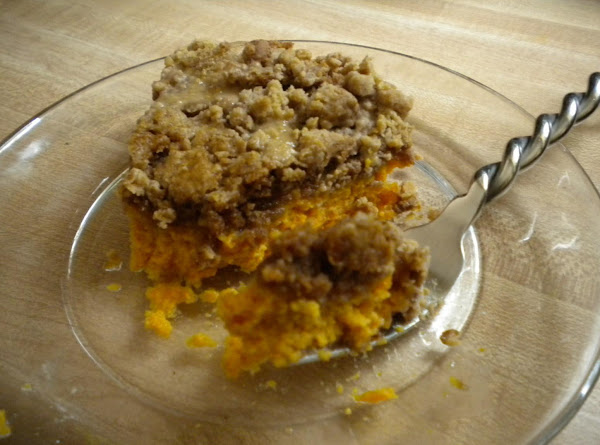 Pumpkin Custard Spice Cake Recipe