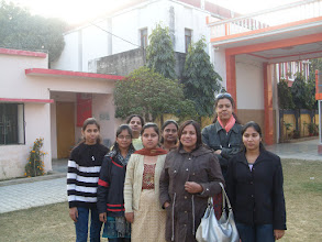 Photo: Our Social Workers at Manisha Mandir, 2009