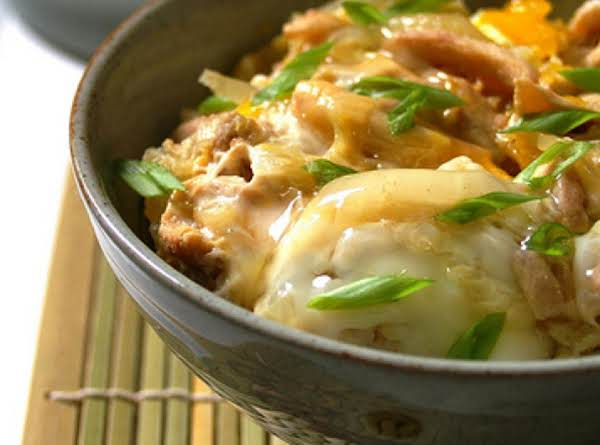 Oyako donburi a traditional japanese dish recipe just a pinch oyako donburi a traditional japanese dish recipe forumfinder Image collections