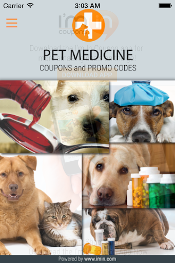 Pet Medicine Coupons - I'm In