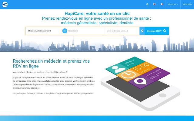 HapiCare : Connecteur pour navigateur