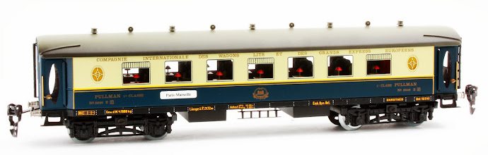 Photo: CIWL 1st Class Pullman Coach no. 3349 E
