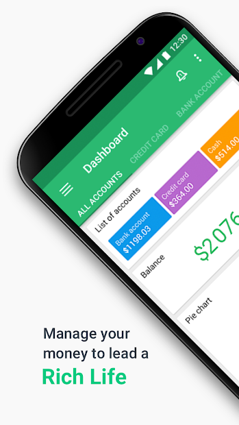 Wallet - Finance Tracker and Budget Planner Android App Screenshot