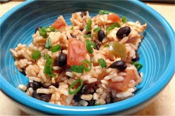 Salsa Rice with Chicken and Black Beans