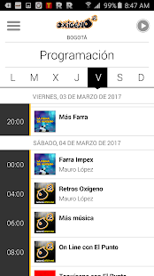 Oxígeno Radio- screenshot thumbnail