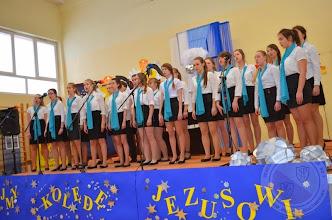 """Photo: III Wojewódzki Konkurs Kolęd i Pastorałek """"Zaśpiewajmy kolędę Jezusowi"""" Czarna Białostocka - Chór PG20"""
