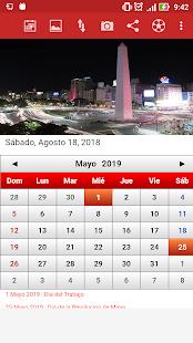 Argentina Calendario 2019 7