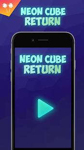 Neon Cube Return - náhled