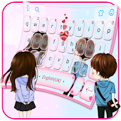 Innocent Couple Love Keyboard Theme Android APK Download Free By Bs28patel