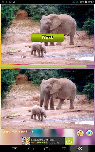 Find Differences Big Elephant