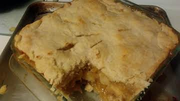 Country Time Pine-Apple Deep Dish Pie