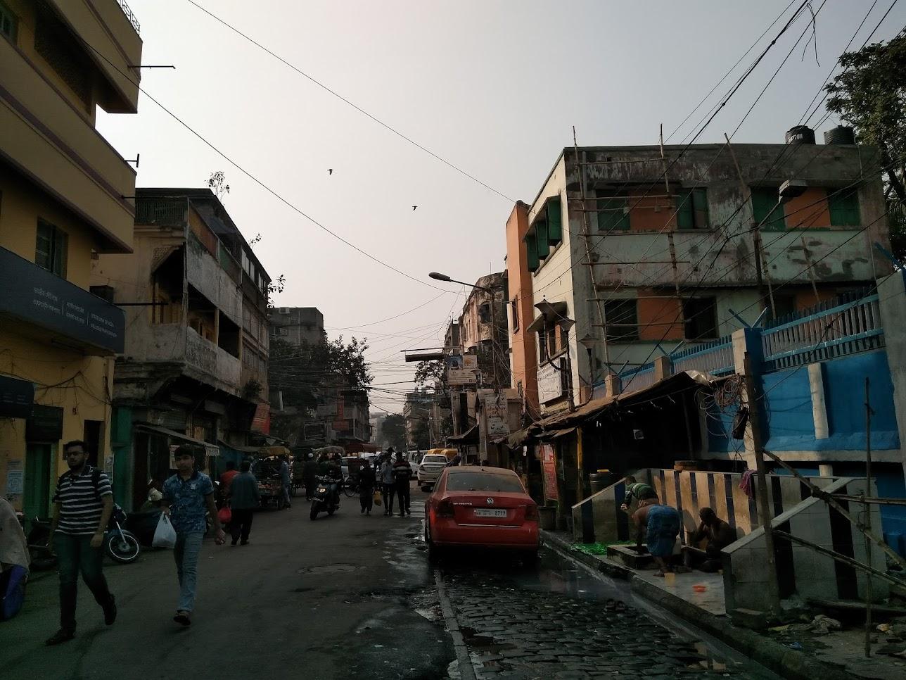 コルカタの路地
