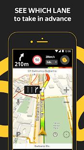 Yandex.Navigator - náhled