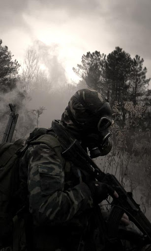 dark soldier wallpaper