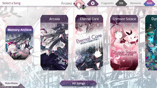 Arcaea - New Dimension Rhythm Game - náhled