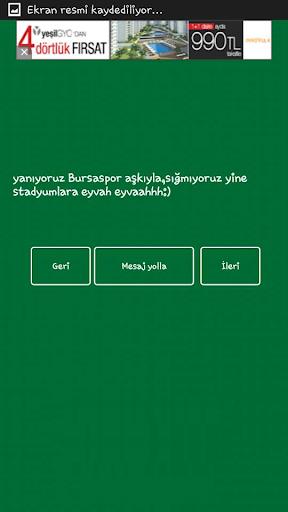 Bursaspor Sloganlarımız