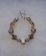 Photo: sterling bracelet with leaf toggle