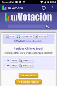 Tu Votación screenshot 2