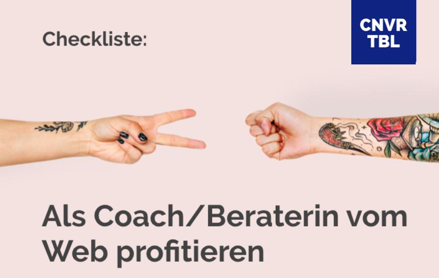 Checkliste für Coaches