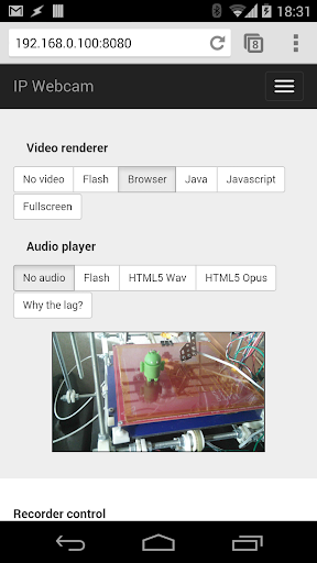 IP Webcam screenshot 3
