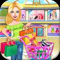 Mall Girl Shopping Fun Simulator Big Sales Day icon