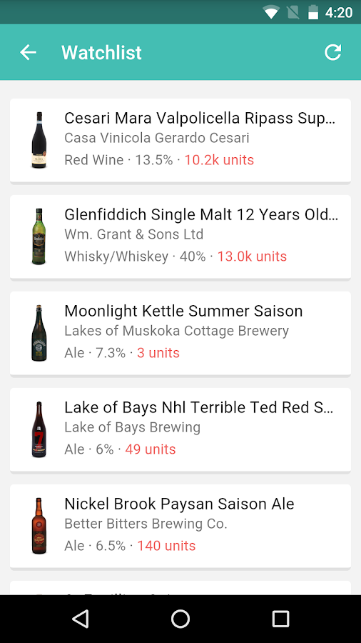 Elsie: Your LCBO Guide- screenshot